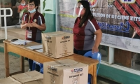 Distribution of Hygiene Kits to the Lucky 257 Residents of Our Municipality