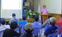 Meeting of Barangay Agricultural Extensions Workers (BAexWs) Leaders
