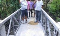 Opening of 2 Bailey Bridge at Sitio Lungboy, Suyo Proper